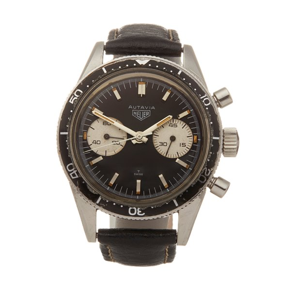 Heuer Autavia Andretti Chronograph Stainless Steel - 3646