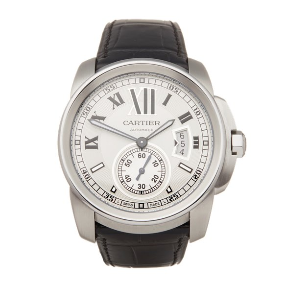 Cartier Calibre Stainless Steel - W7100013 or 3299