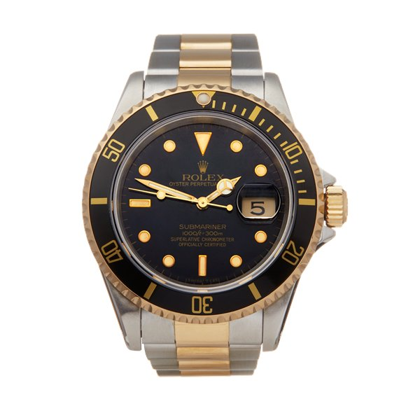 Rolex Submariner Date Stainless Steel & Yellow Gold - 16613LN