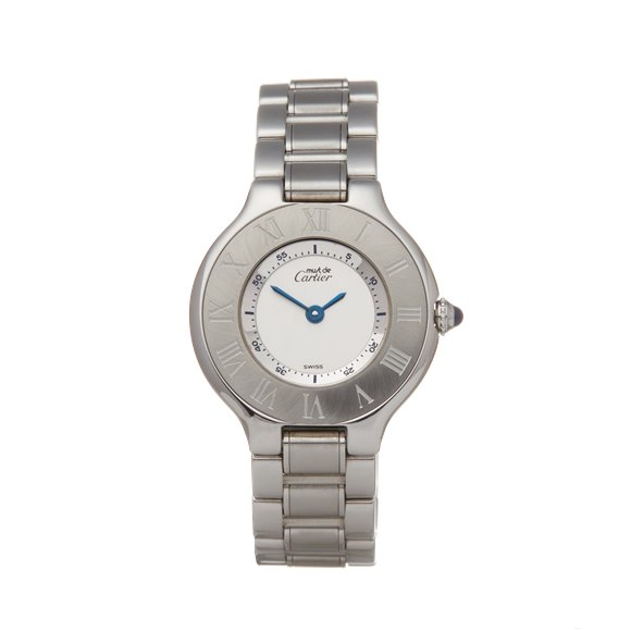Cartier Must de 21 Stainless Steel - W10109T2 or 1340