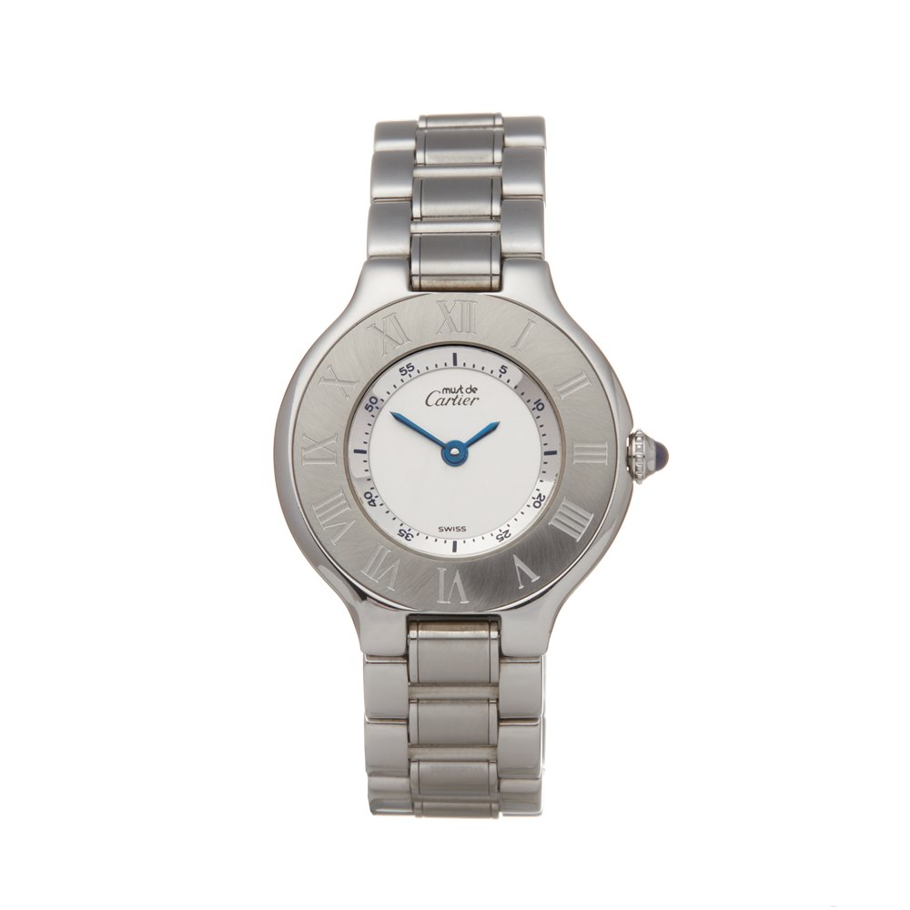 Cartier Must de 21 Stainless Steel W10073R6 or 1340