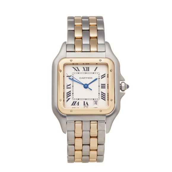 Cartier Panthère Stainless Steel & Yellow Gold - 1100