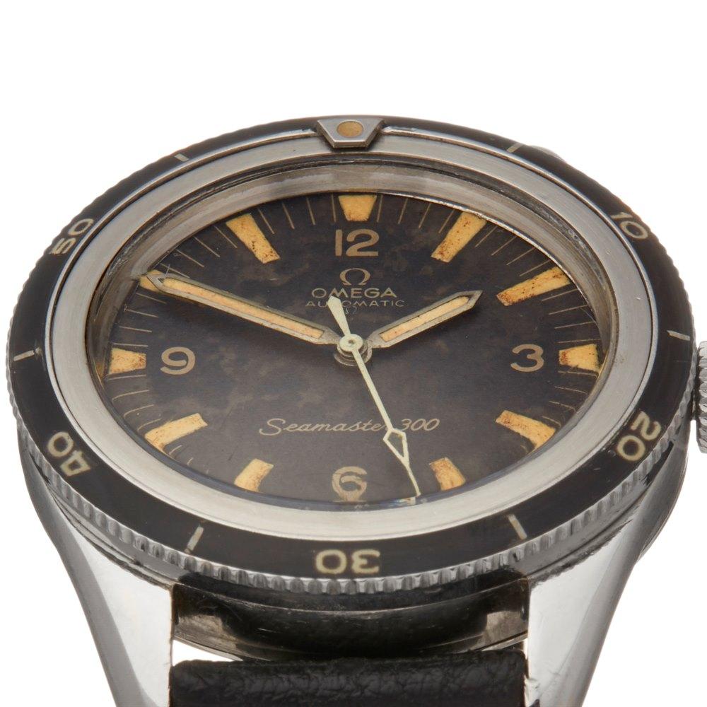 Omega Seamaster 300 Radium Dial Stainless Steel Cal. 552