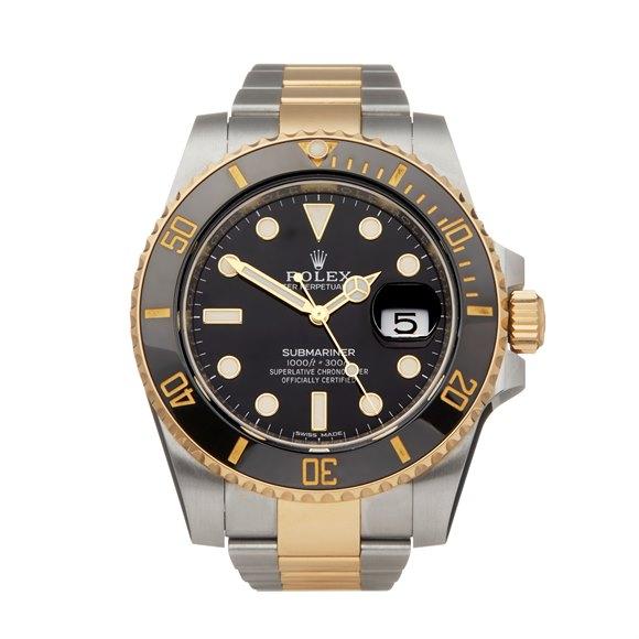 Rolex Submariner Stainless Steel & 18K Yellow Gold - 116613LN