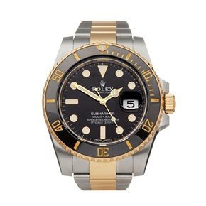 Rolex Submariner Stainless Steel & 18K Yellow Gold - 116613LN