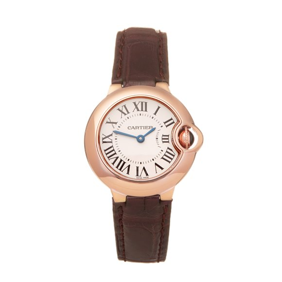 Cartier Ballon Bleu Rose Gold - WGBB0007 or 3869