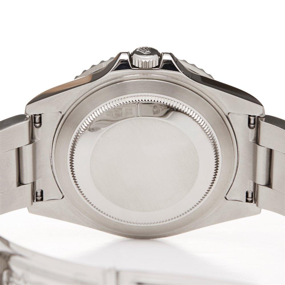 Rolex GMT-Master II Pepsi Rectangular Dial Stainless Steel 16710
