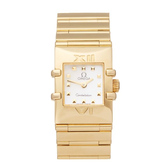 Omega Constellation Quadra Yellow Gold - 7951.2349999999997