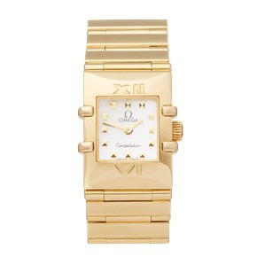 Omega Constellation Quadra 18K Yellow Gold - 7951235