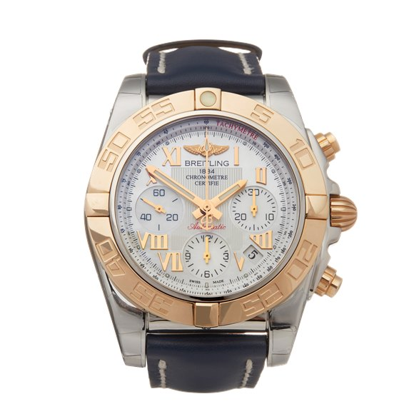 Breitling Chronomat Chronograph Stainless Steel & Yellow Gold - CB14012