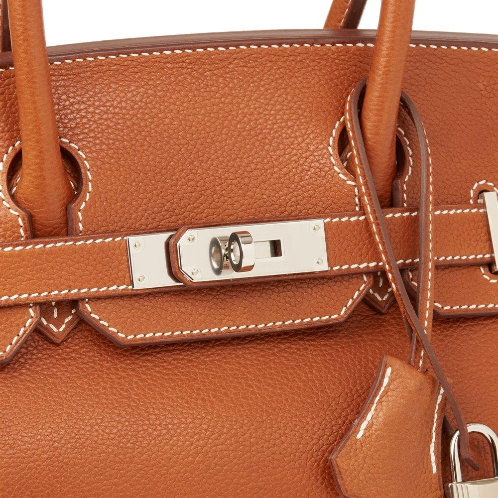 620c9cdef3d8 Hermès Barenia Faubourg Leather Birkin 30cm