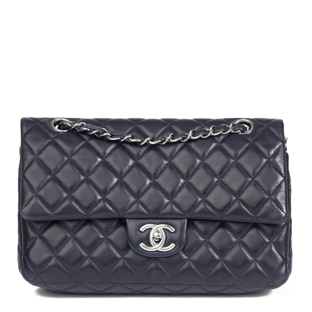 be461b8e7ec5fb Chanel Medium Classic Double Flap Bag 2009 HB2524 | Second Hand Handbags