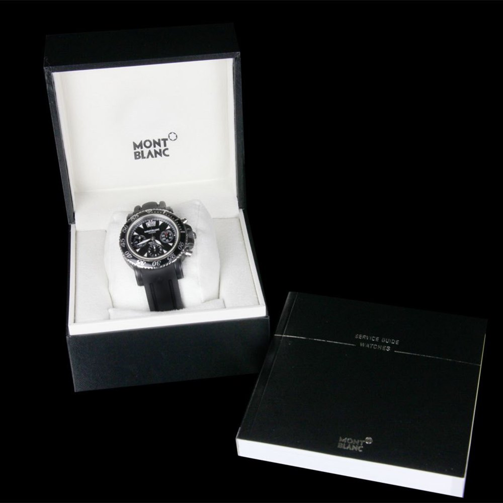 Montblanc Sport Black PVD Coated Stainless Steel 100000011848