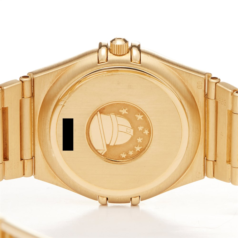 Omega Constellation 18K Yellow Gold 1182.70.00