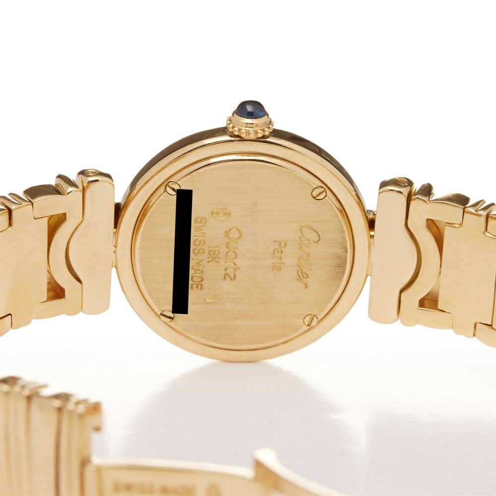 Cartier Colisee 18k Yellow Gold W15044D7 or 1989