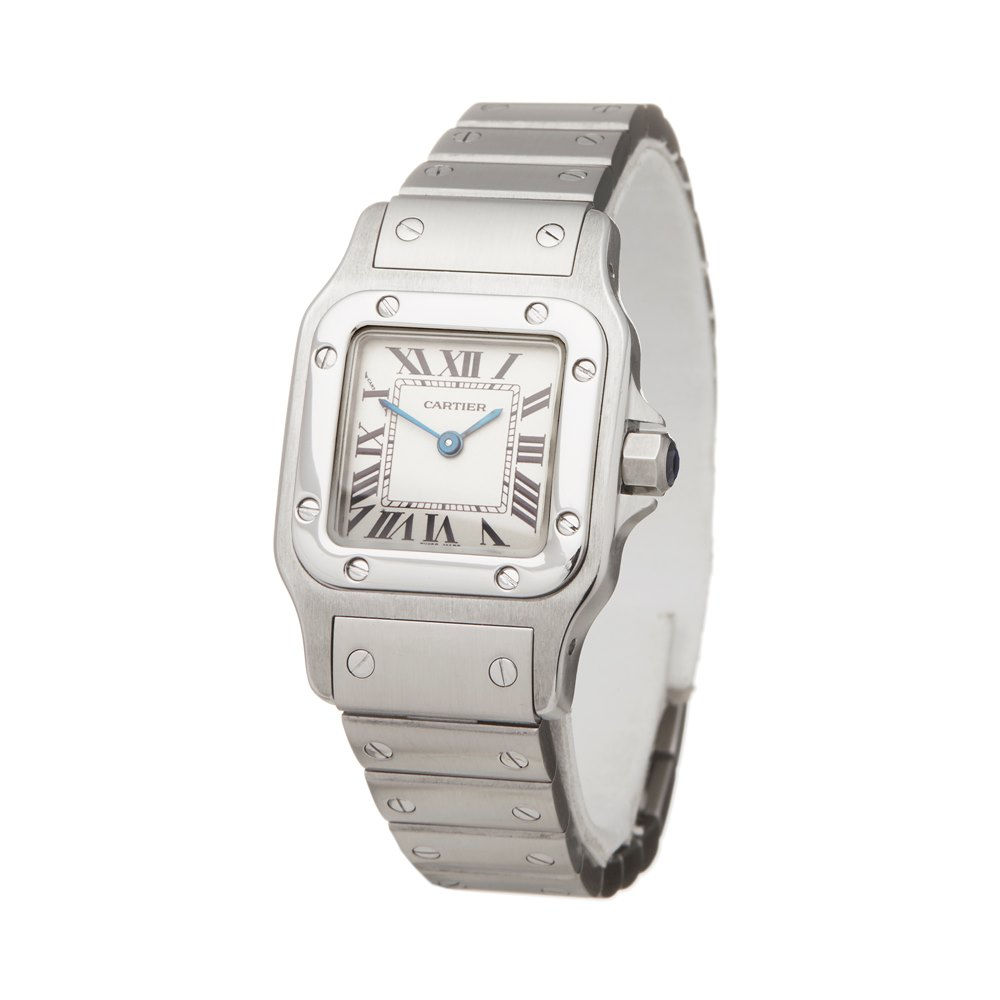 Cartier Santos Galbee Stainless Steel W20056D6 or 1565