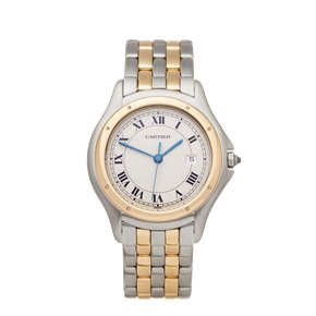 Cartier Panthère Cougar Stainless Steel & Yellow Gold - W35006B6 or 1180
