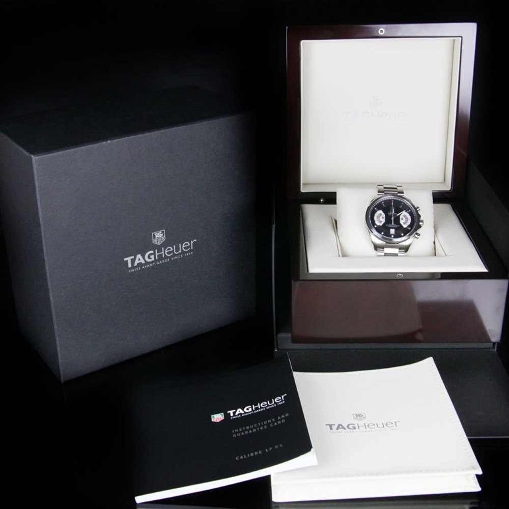 Tag Heuer Grand Carrera Stainless Steel CAV511A.BA0902