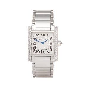 Cartier Tank Francaise 18K White Gold - 2404