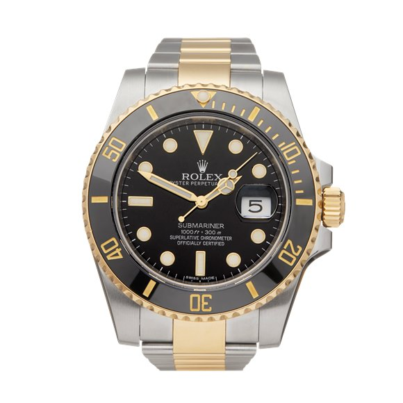 Rolex Submariner Date Stainless Steel & Yellow Gold - 11613LN
