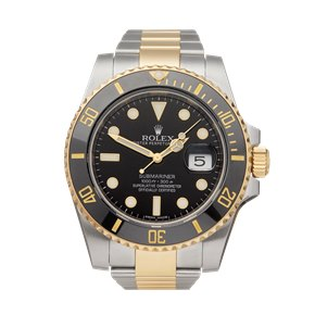 Rolex Submariner Date Stainless Steel & Yellow Gold - 116613LN