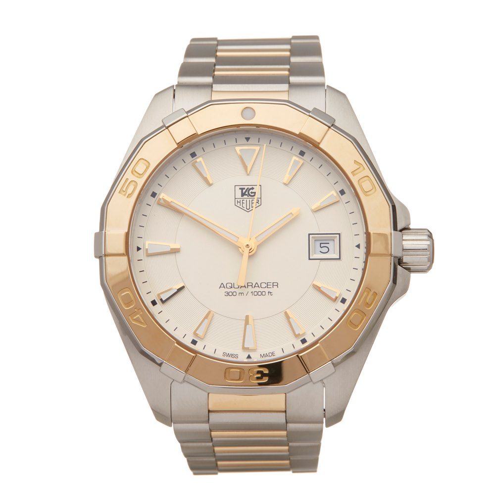 Tag Heuer Aquaracer Stainless Steel & Yellow Gold WAY1151.BD0912