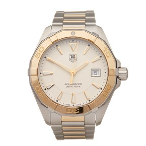 Tag Heuer Aquaracer Stainless Steel & 18K Yellow Gold - WAY1151.BD0912