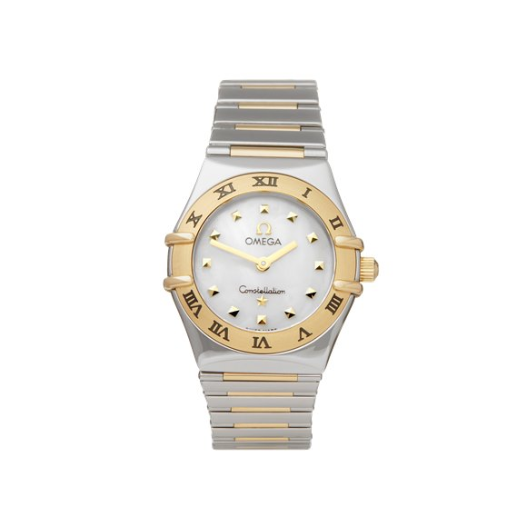Omega Constellation My Choice Stainless Steel & 18K Yellow Gold - 1361.71.00