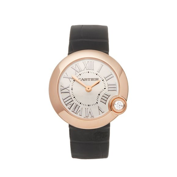 Cartier Ballon Blanc 18K Rose Gold - WGBL0003 or 4171