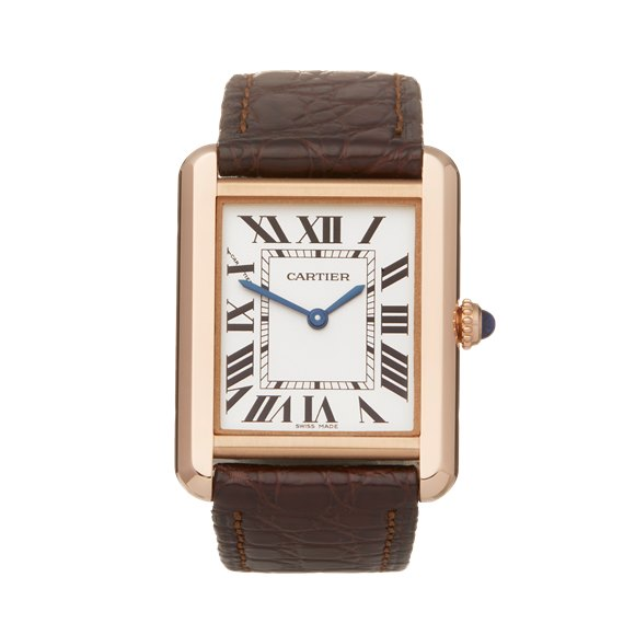 Cartier Tank Solo 18K Rose Gold - W5200024 or 3168