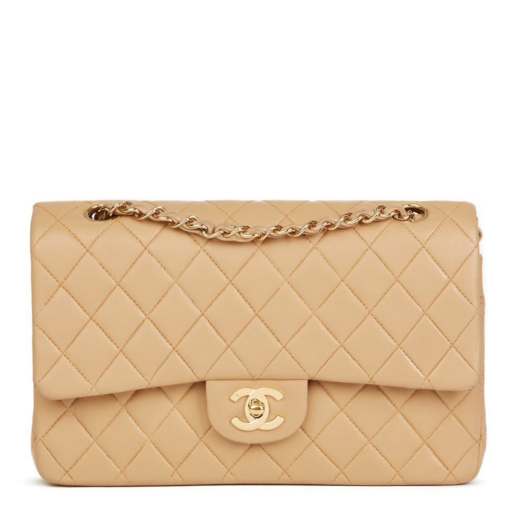 d1eab3b0c611d1 Chanel Medium Classic Double Flap Bag 2003 HB2485 | Second Hand Handbags