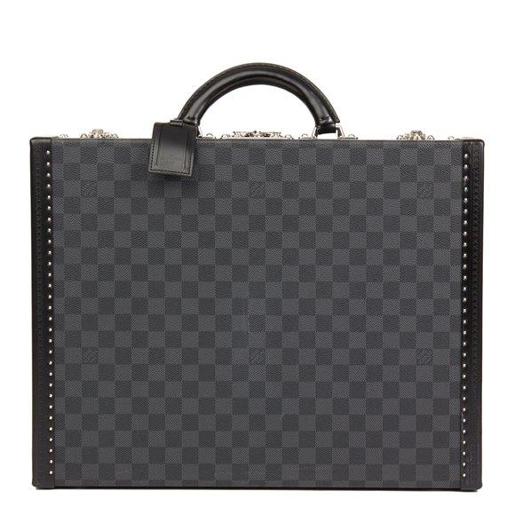 Louis Vuitton Graphite Damier Coated Canvas Cotteville 45