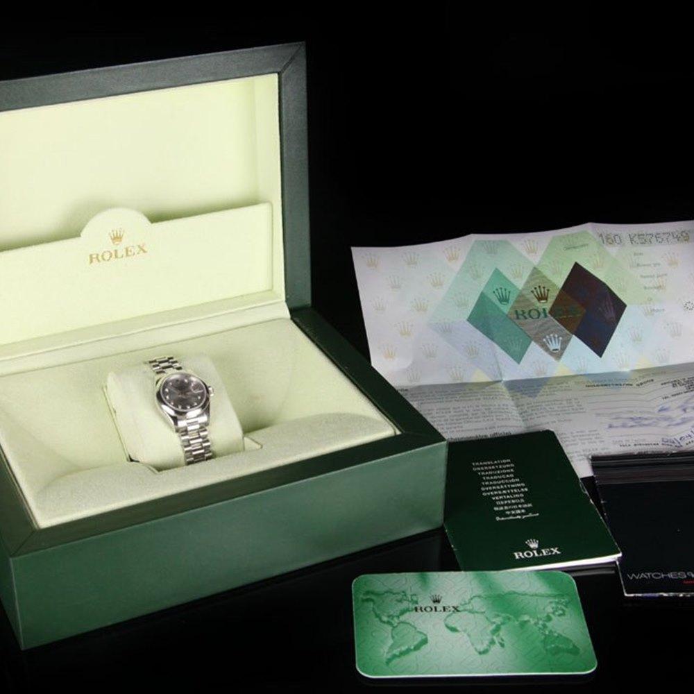 Rolex Datejust Platinum 179166