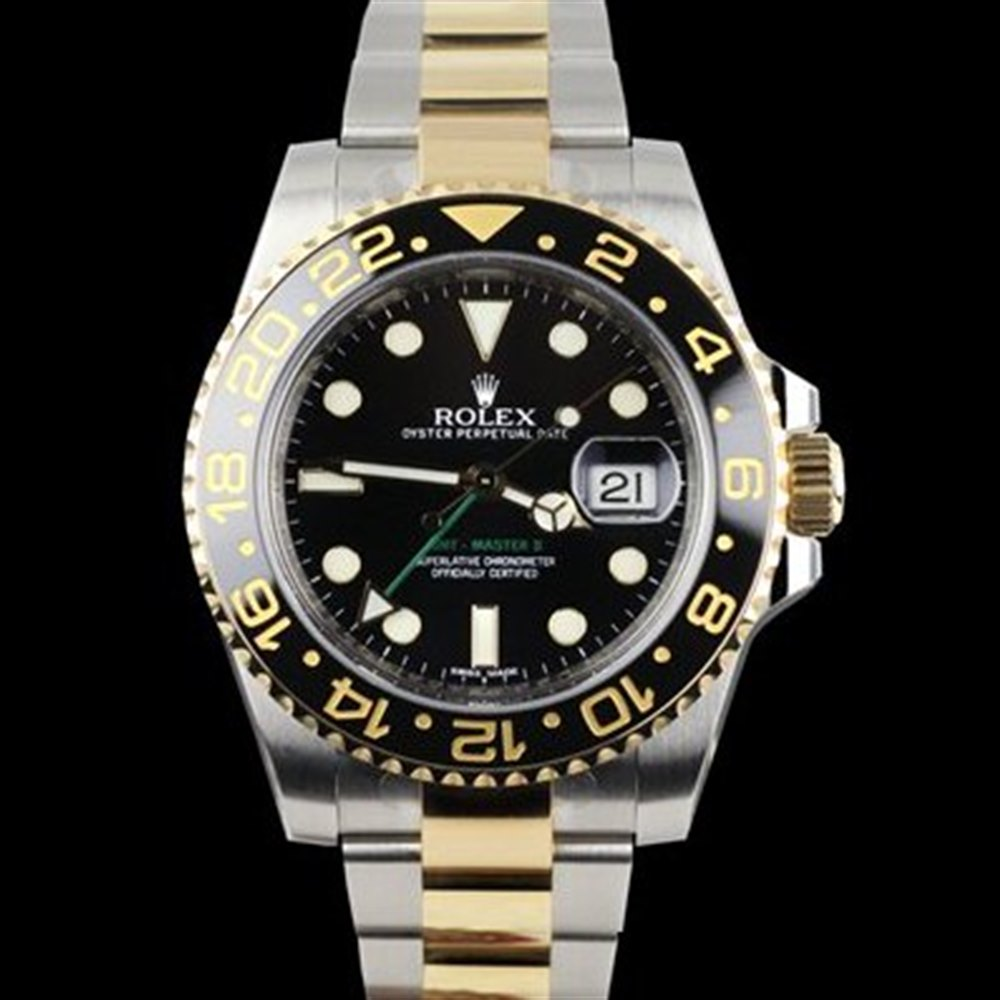 Rolex GMT-Master II Stainless Steel/18K Yellow Gold 116713LN