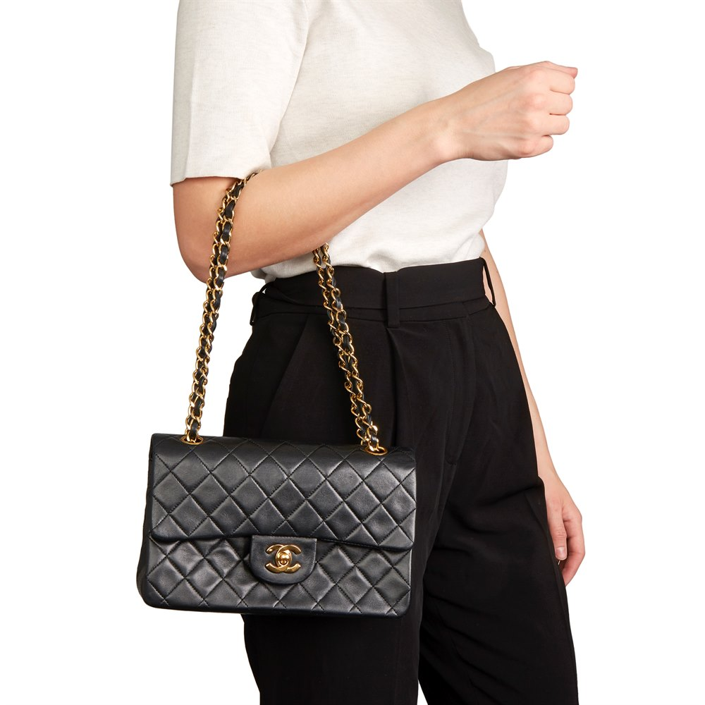 9634baab Chanel Small Classic Double Flap Bag 1991 HB2575 | Second Hand Handbags