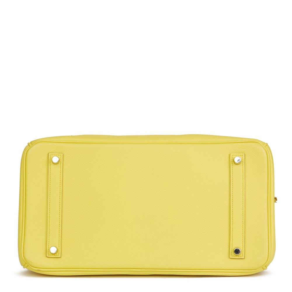 Hermès Soufre Epsom Leather Birkin 35cm