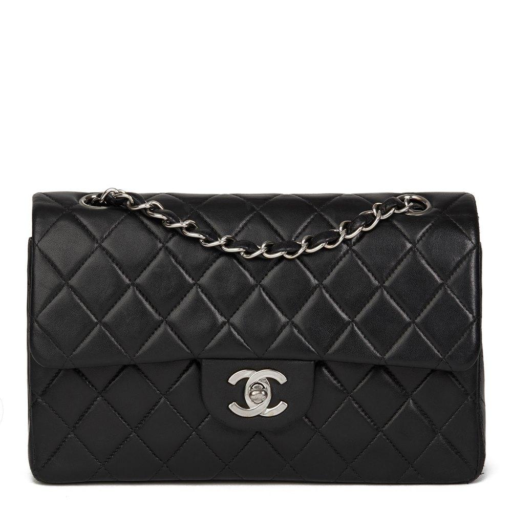 08cb22d0e6c9 Chanel Small Classic Double Flap Bag 2000 HB2618   Second Hand Handbags