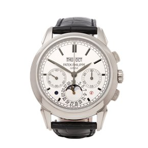 Patek Philippe Perpetual Calendar Chronograph 18K White Gold - 5270G-001