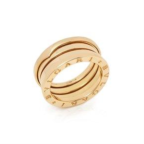 Bulgari 18k Yellow Gold 3 Band B.Zero 1 Ring
