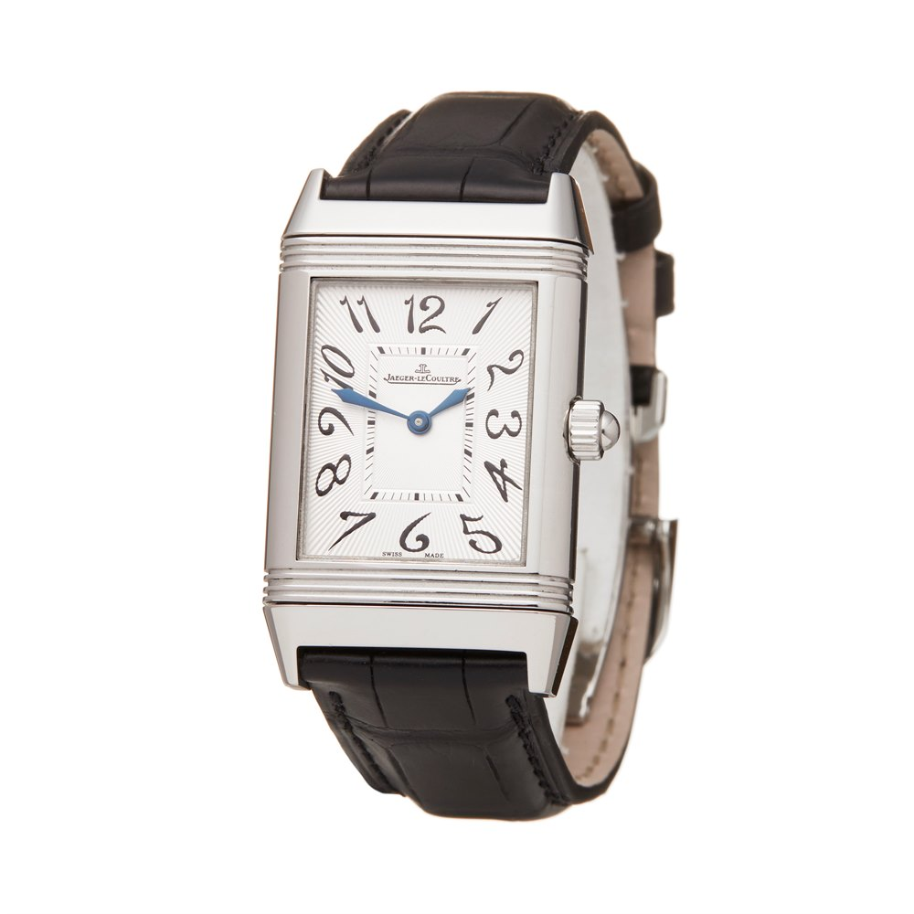 Jaeger-LeCoultre Reverso Duetto Diamond Roestvrij Staal 256.8.75