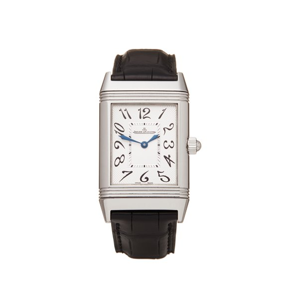 Jaeger-LeCoultre Reverso Duetto Diamond Stainless Steel - 256.8.75