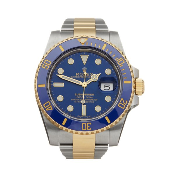 Rolex Submariner Stainless Steel & 18K Yellow Gold - 116613LB