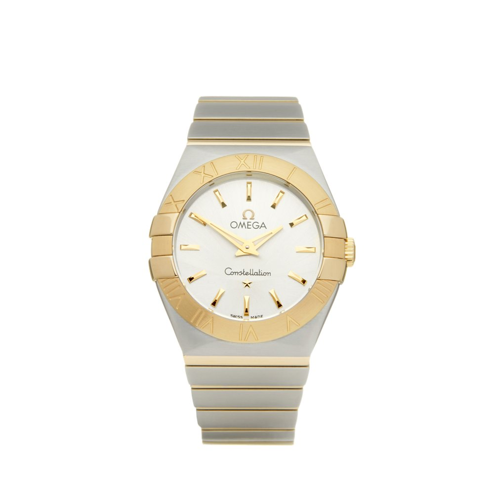Omega Constellation Stainless Steel & Yellow Gold 123.20.27.60.02.004