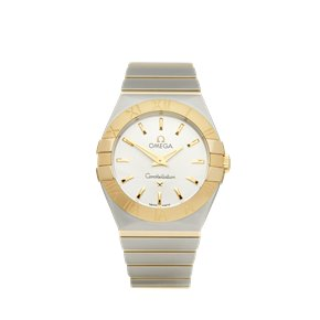 Omega Constellation Stainless Steel & 18K Yellow Gold - 123.20.27.60.02.004