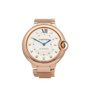 Cartier Ballon Bleu 18K Rose Gold - WE902026 or 3003