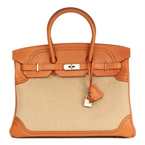 b832d890bb Pre Owned   New Hermès Birkin-35Cm