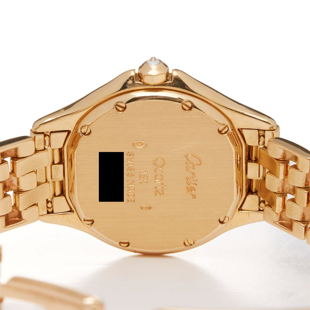 Cartier Panthère Diamond 18k Yellow Gold WF8004F9 or 1161