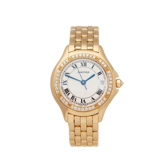 Cartier Panthère Diamond 18k Yellow Gold - 887907 or 8879