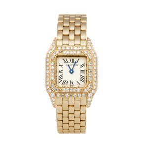 Cartier Panthère Diamond 18k Yellow Gold - 1131-1