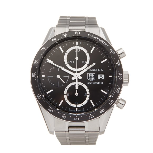Tag Heuer Carrera Chronograph Stainless Steel - CV2010-0